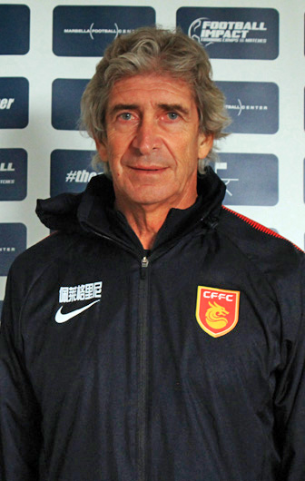 Mr. Manuel Pellegrini, Head Coach Hebei China Fortune