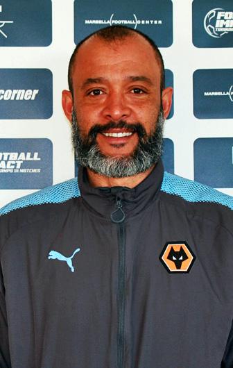 Mr. Nuno Espírito Santo, Head Coach Wolverhampton Wanderers FC