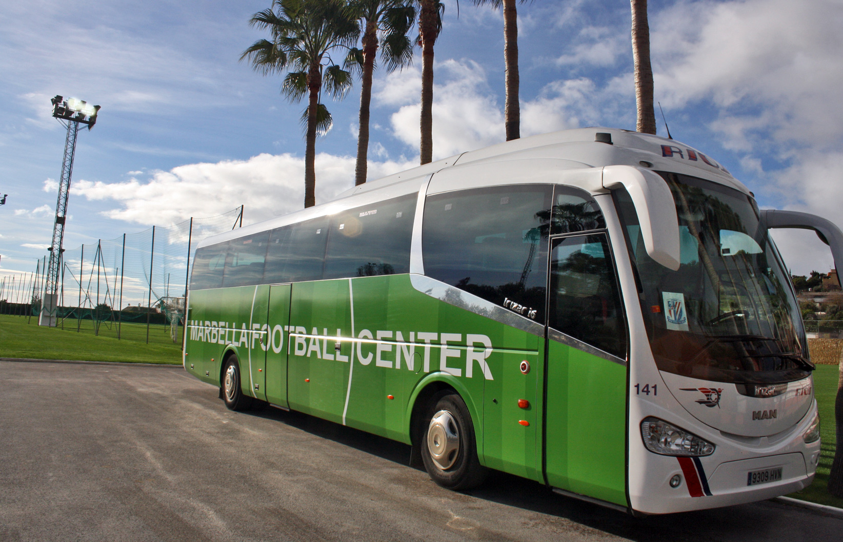 MARBELLA FOOTBALL CENTER TRANSPORT SERVICE