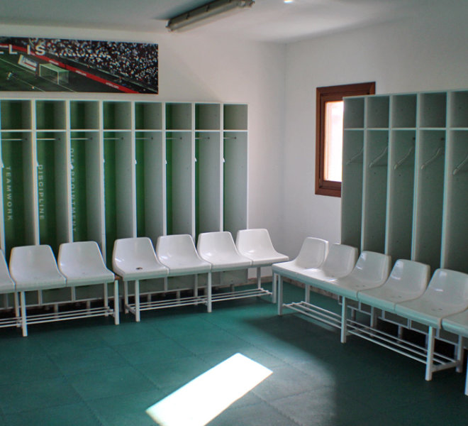 CHANGING ROOMS MARBELLA FOOTBALL CENTER