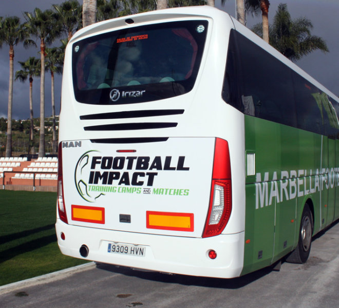 TRANSPORT MARBELLA FOOTBALL CENTER